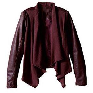 Blank NYC Drape Leather Jacket